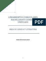 Lineamientos Lengua Literatura