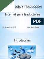 Internet Para Traductores - 29 Abril 2013