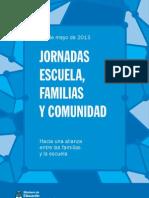Cuadernillo Escuelas Familias y Comunidad 24-5-13
