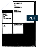 Arnold Schoenberg - Manuale Di Armonia