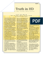 Truth in HD May 2013