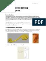 Advanced Modelling Techniques