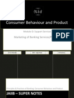 42324452 JAIIB Super Notes Principles and Practices of Banking Module D Consumer Behaviour and Product