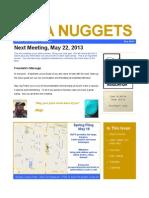 NUPA Nuggets May 2013