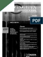 CDG - Una vez más, ¿quis custodiet ipso custodes?. Comentarios a la STC 156-2012-PHC/TC