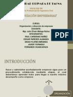 Organizacion Empresarial Teoria 3era Expo