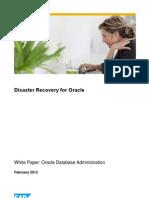 Disaster Recovery Para Oracle en SAp