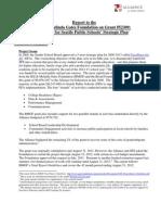 BMG Report All4Ed SPS StratPlan Grant52309 11-2-12