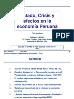 El Estado y La Crisis Actual