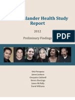 Pacific Islander Health Study Report 2012 Preliminary Findings