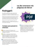 Las diez amenazas más peligrosas de Internet - 10 - Keyloggers