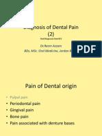 (9) Dental Pain II