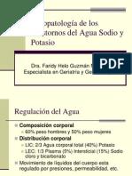 50,51.Trastornos Agua-sodio y Potasio