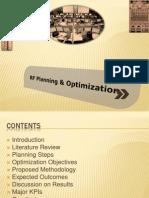 RF Planning and Optimization