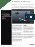 AMD Bullet Physics for Maya2012