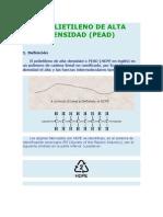 Polietileno de Alta Densidad Efra