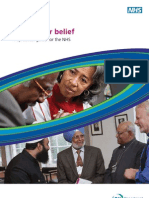 Religion or Belief - A Practical Guide for the NHS