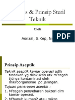 Asepsis & Prinsip Steril Teknik