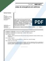 NBR 09077 - 2001 - Saídas de Emergência em Edifícios cópia