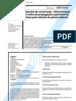 NBR 9442 - Indice de Propagao de Chamas
