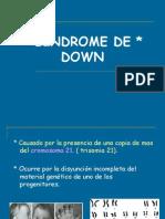 sindromes de genética médica