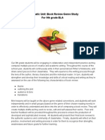 Book Review Overview