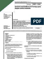 NBR 11836 - 1992 - Detectores Automaticos de Fumaca Para Protecao Contra Incendio