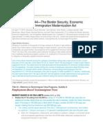 FAIR Summary of Gang-Of-8 Nonimmigrant-Visa Provisions