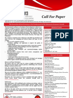 Call for Paper A4