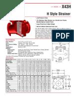 Filtro Tipo h x43h Es
