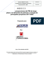 03.ANEXO-C3(Proyecciones de PBI y Demanda de Electricidad 2011-2022 Set11)
