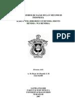 Analisis Simbolik Sajak Bulan Mei 1998 Di Indonesia