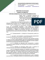 Portaria Normativa n28 - Liminar Caixa