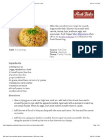Curry Fried Rice Recipe