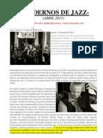 cuadernos de jazz-concierto bellas artes
