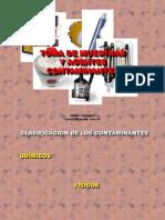 b - Toma de Muestras y Agentes Contaminantes