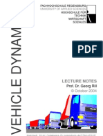 Vehicle Dynamics 2004