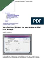 Réaliser un book interactif PDF avec Indesign