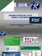 Rehabilitación del ictus modelo asistencial