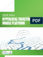 Hyperlocal Targeting on the Mobile Platform