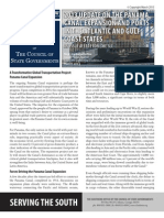 2013 Update on the Panama Canal Expansion and Ports in the Atlantic and Gulf Coast States