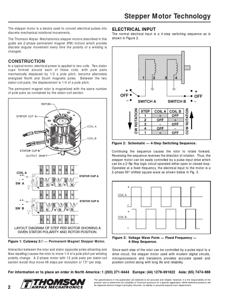 Airpax Stepping Motor 6 Wire Wiring Diagram Electrical Diagrams Stepper Torque Power Supply