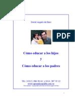 Como Educar a Los Hijos Como Educar a Los Padres