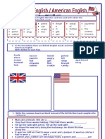British American English
