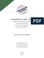 RELATÓRIO LINHAS DE FORÇA 1