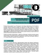 Zagraniczne Gwiazdy Big Book Festival