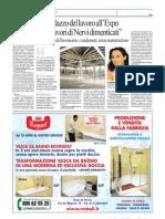 Articolo su Repubblica Torino dedicato al degrado del Palazzo del Lavoro a Torino - intervista a Cristiana Chiorino