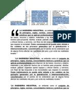La Ingeneiria Industrial