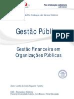 Gestao Financeira Em Organizacoes Publicas Versao Final