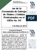 Informe Entrega Titulos_cedulas Cbtis 93